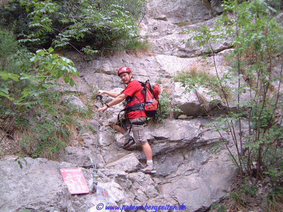 Klettersteig Colodri : Peters bergseiten via ferrata colodri