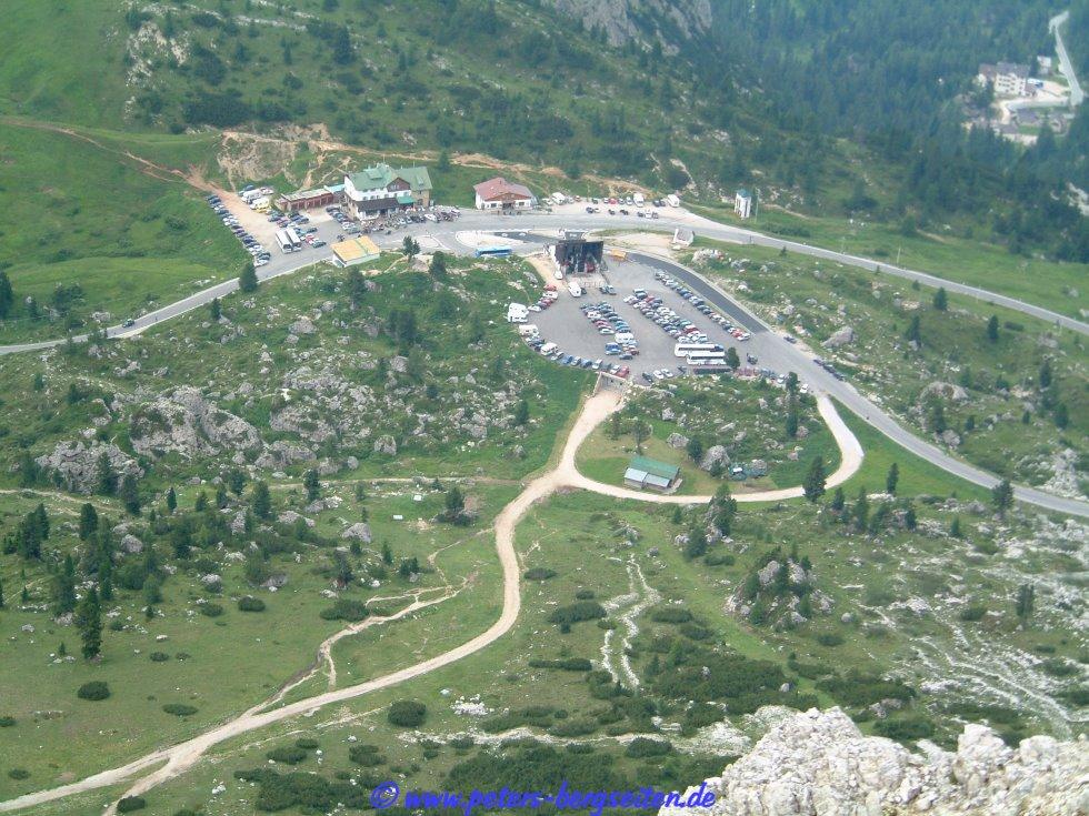 Peter\'s Bergseiten - Lagazuoi-Felstunnel
