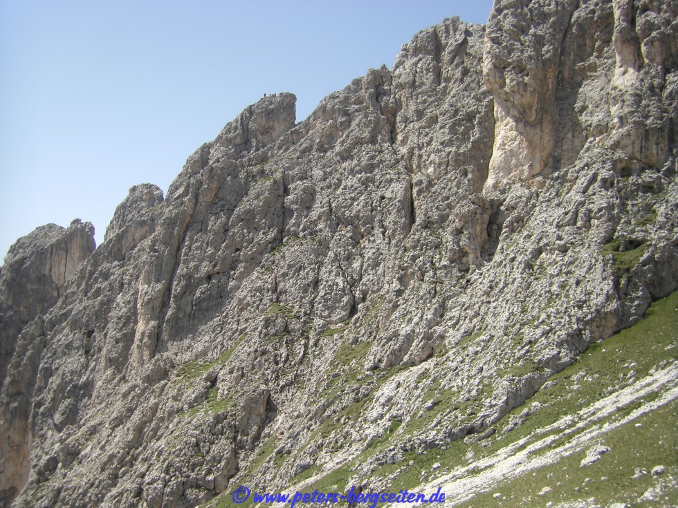 Klettersteig Rotwand : Rotwand klettersteig