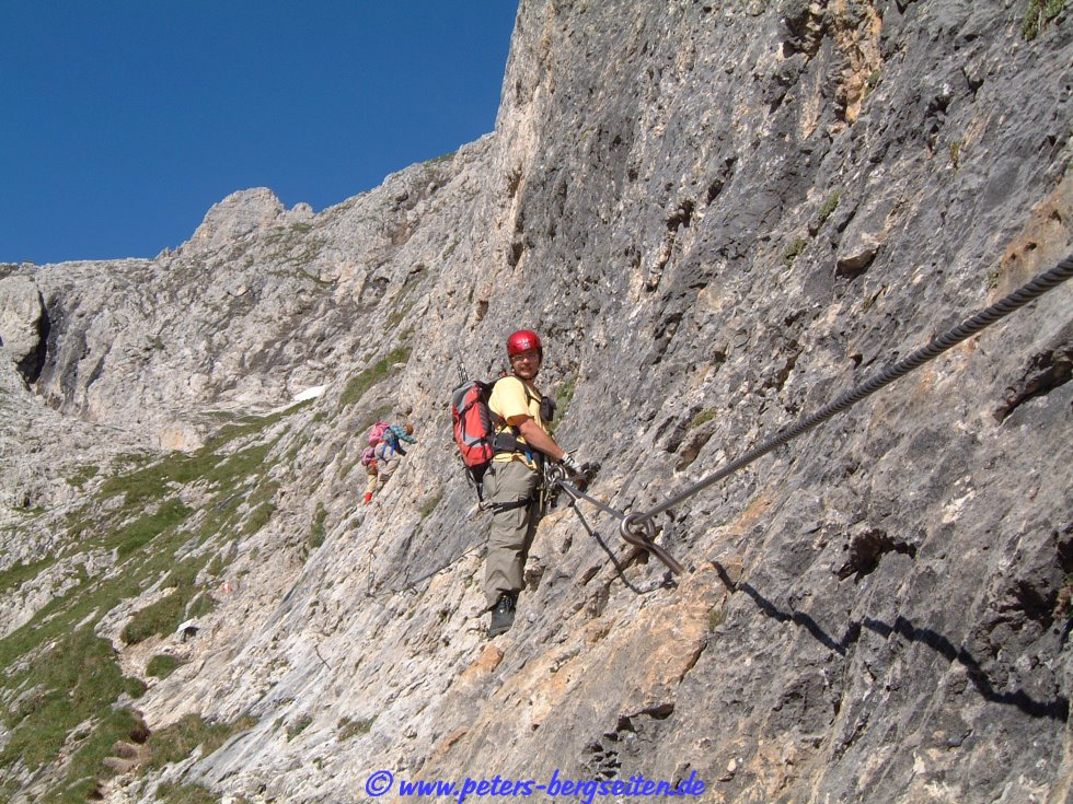 Klettersteig Pisciadu : Via ferrata pisciadu klettersteig dolomiten youtube