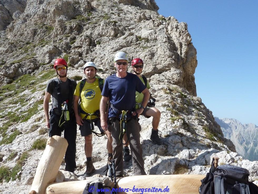 Klettersteig Rotwand : Und masaré klettersteig