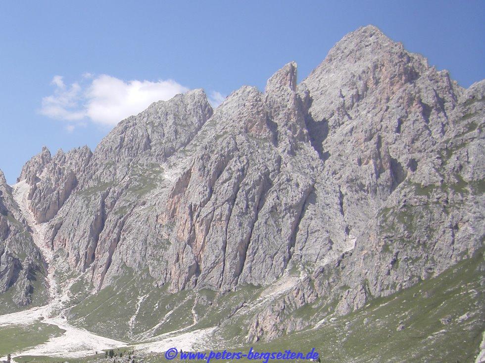 Sass Rigais Klettersteig Villnöss : Peter s bergseiten sass rigais südwestflanke