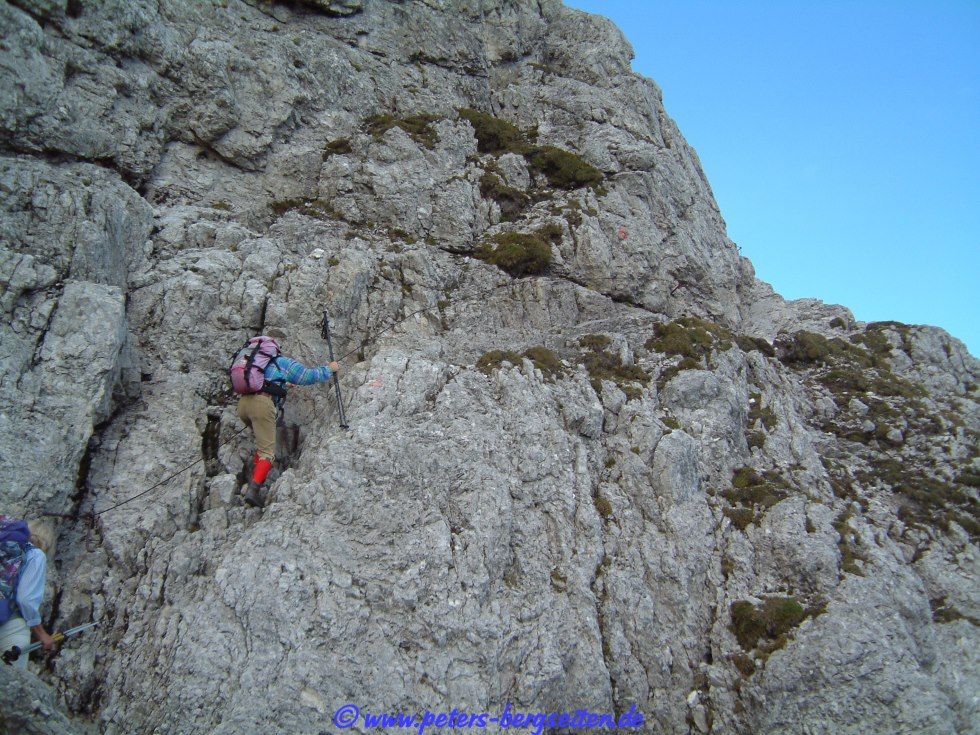 Klettersteig Rotwand : Peter s bergseiten sextener rotwand