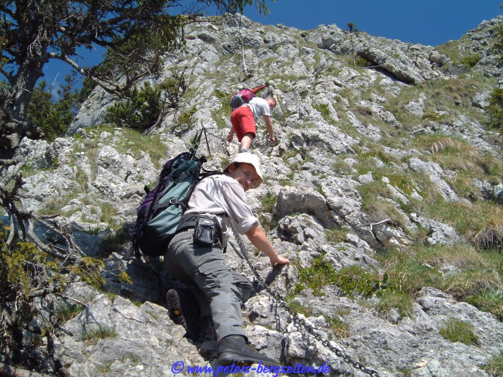 Klettersteig Am Ettaler Mandl : Peter s bergseiten ettaler manndl