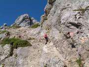 Friedberger Klettersteig : Peters bergseiten friedberger klettersteig
