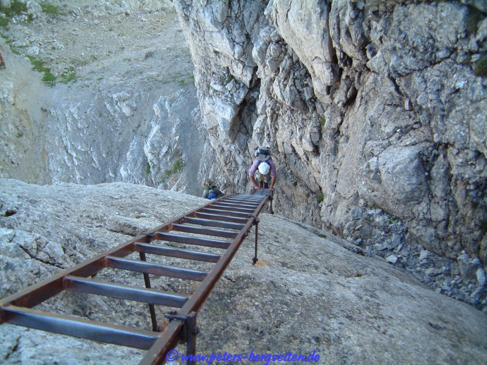 Hindelanger Klettersteig Ungesicherte Stellen : Hindelanger klettersteig tagestour