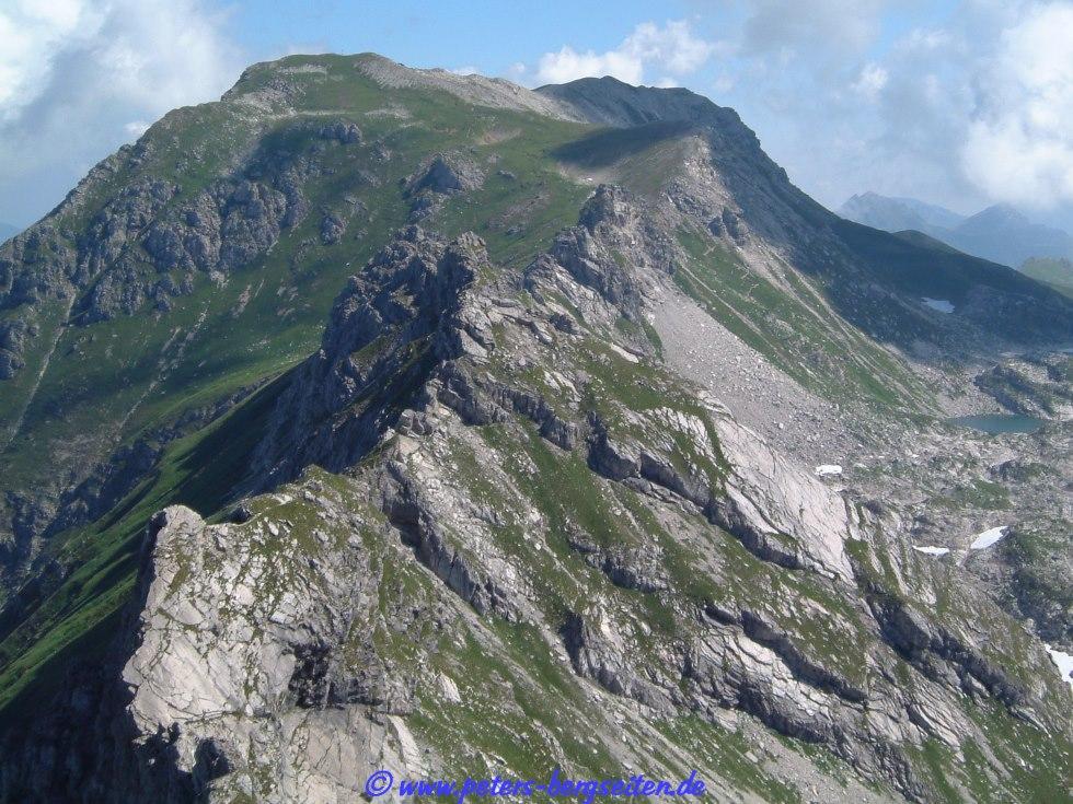 Klettersteig Nebelhorn : Hindelanger klettersteig nebelhorn allgäuer alpen bayern
