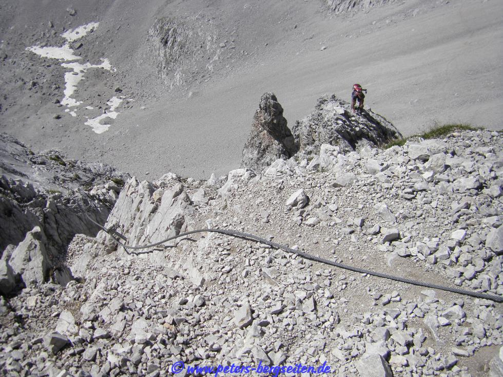 Klettersteig Lamsenspitze : Peter s bergseiten lamsenspitze