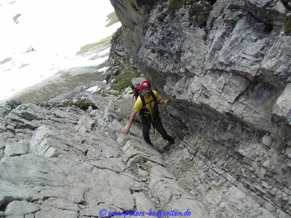 Klettersteig Mindelheimer : Peter s bergseiten mindelheimer klettersteig
